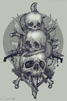 Картинки по запросу skull art