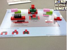 Model a Chemical Reaction with Common LEGO® Bricks!