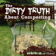 the dirty truth about composting, composting, gardening, go green, The first thing you need is a place to put your compost It doesn t have to be fancy just functional You can use metal fence posts and chicken wire pallets and screws or a store bought composting bin As long as it holds stuff