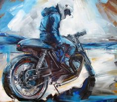 Badass Motorcycle Art by Kseniarts_k - Motorcycle - Motorrad Futuristic Motorcycle, Motorcycle Art, Bike Art, Motorcycle Quotes, Sidecar Motorcycle, Tracker Motorcycle, Motorcycle Touring, Motorcycle Design, Gs 1200 Adventure