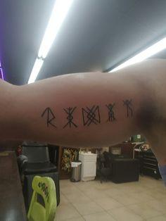 Silver Tattoo Permanent New Glyph Tattoo Success Prosperity Longevity Health and Silver Tattoo, Glyph Tattoo, Fresh Tattoo, Viking Tattoos, Tattoo Removal, Tattoo Machine, Symbolic Tattoos, Glyphs, Tattoo Quotes