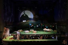 The Elixir of Love. San Francisco Conservatory of Music. Scenic design by Steven C. Kemp.