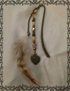 Embellish Jewellery NZ/OZ Handmade Feather Beaded Bookmark :)