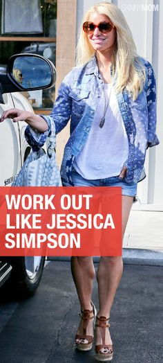 Want sexy legs like Jessica Simpson? Get the skinny scoop here!