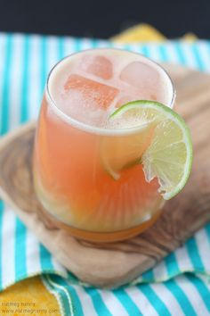 Roasted Pineapple & Strawberry Daiquiri