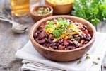 Vegetarian chili at its finest. Courtesy of Jackie Newgent. Bean Recipes, Chili Recipes, Diet Recipes, Vegetarian Recipes, Cooking Recipes, Healthy Recipes, Vegan Soups, Croq Kilo, Allergies Alimentaires