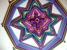 """Artesanía, Arte Terapia y Meditación Activa : Mandalas """"Ojos de Dios"""""""
