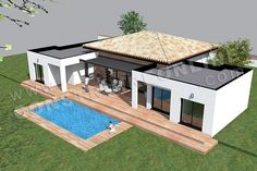 small bungalow house design in the philippines with design balcony plants with home depot paint color room visualizer for house plans for sale in cape town - Best Home Interior Design Small House Design, Modern House Design, Home Depot Paint Colors, Single Storey House Plans, Modern Gazebo, House Plans For Sale, Small Bungalow, Casas The Sims 4, Best Home Interior Design