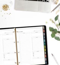 Printable Blog Planner 2016  A4/Letter size  Minimalistic & Stylish Blogger's Planner (15.00 AUD) by GrafikaStudio