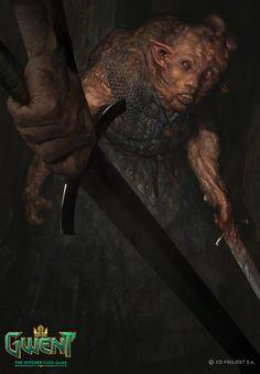 Doppler, Bartlomiej Gawel - The Witcher The Witcher Game, The Witcher Books, Witcher Art, Weird Creatures, Fantasy Creatures, Fantasy Monster, Monster Design, High Fantasy, Fantasy Inspiration