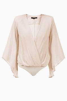 Blusa body incrociata - Top su Digital Store ELISABETTA FRANCHI - la Boutique online ufficiale