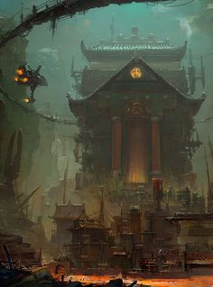 The Art Of Animation, Su Jian . Concept Art Illustration .