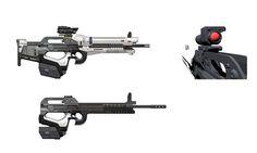 ArtStation - Destiny: AR3 Marksman Rifle, Isaac Hannaford