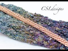 Flat wirework kumihimo braid - YouTube