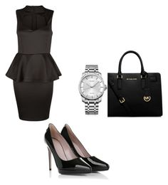 """Untitled #143"" by aandreead ❤ liked on Polyvore featuring AX Paris, Gucci, MICHAEL Michael Kors and Calvin Klein"