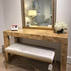 "10 Likes, 3 Comments - Cassie J. Hawks (@cassiecodarus) on Instagram: ""Arriving Summer 2017! The Chloe Burl Console from Ave Home is gorgeous! Also available in a…"""