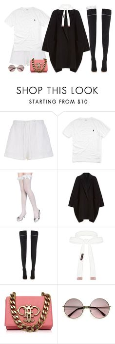 """""""Bo Beep"""" by oh-aurora ❤ liked on Polyvore featuring TIBI, Ralph Lauren, Helmut Lang, Vetements, Cybele and Emilio Pucci"""