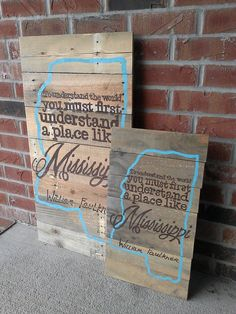 SMALL Mississippi Pallet Sign by YDoodleDesigns on Etsy, $30.00