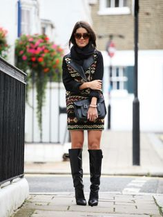 Camila Coelho in London Fashion Week (Day 3)