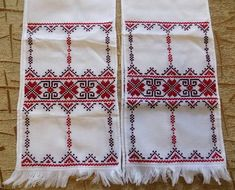 Hand embroidered towel, Ukrainian rushnyk (rushnik). It was hand embroidered as to all old Ukrainian traditions. Such towel (rushnyk) you can use as wedding ceremony, home, icon or church decorations. Length: 1.5 meters / 59.0 inches Width: 23 cm / 9.0 inches Condition - New Made in