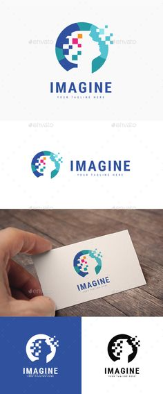 Imagine Logo Template PSD, Vector EPS, AI Illustrator