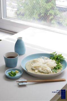 Japanese somen noodles