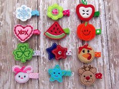 Hair Clip of the Month, A Year of Hair Clips Super cute!!