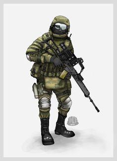 COMFUT Soldier by Gasteiz on deviantART