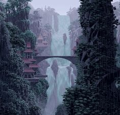 I have no idea how this was created, but I am fascinated with these animated GIFs. I think the pixel art alone without the animation is amazing. Gifs, How To Pixel Art, Piskel Art, Arte 8 Bits, Pixel Art Background, Rain Gif, Art Tumblr, 8bit Art, Pixel Art Games
