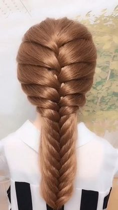 New Pic cool braided hairstyles Style Prepare yourself because there's the latest tide involving 2020 coiffure tips forthcoming your own way. Easy Hairstyles For Long Hair, Braids For Long Hair, Weekend Hairstyles, Braids For Girls, Braided Hairstyles For Long Hair, Long Hair Dos, Hair Plaits, Step Hairstyle, Summer Braids
