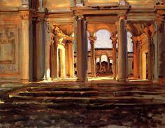 Villa Papa Giulio, circa 1906-1907 John Singer Sargent