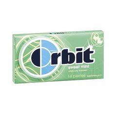 Orbit Sugar-Free Sweet Mint Gum 14-ct. ($15) ❤ liked on Polyvore