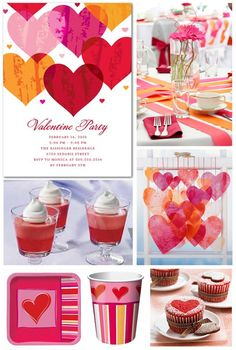 Valentine's Day Party Ideas Adults | Inspiration Board: Valentine's Day