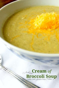 Cream of Broccoli Soup | THM: S - Northern Nester