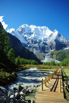 Yading is a national level reserve in Daocheng County, in the southwest of Sichuan Province, China