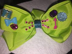 Junk bow diy (All bows and headbands are custom made and inspired by my daughters)