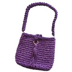 Mochila de Rayas (patrón libre) – Moldes gratis de Crochet