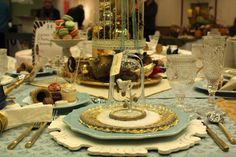 A Marie Antoinette themed tablescape