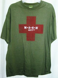 FREE U.S. Shipping! From 2004! Official M*A*S*H Merchandise Shirt! Adult XL.