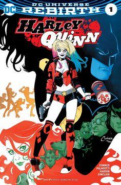 Harley Quinn Rebirth #1 - Cover