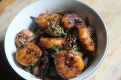 This is like the best prawn dish i ever tasted and ever made..It is like mouthwateringly good.. Similar Recipes, Spicy Prawn Roast Prawn Masala Prawns with Drumstick Leaves Prawn Fried Rice Grilled Prawns This is so easy to make and so delicious to enjoy..I had it with prawn fried rice and the combo was so...Read More