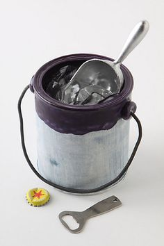 Paint can ice bucket. $38