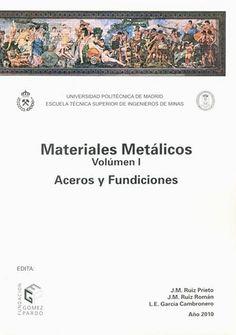 Aceros y fundiciones / José Manuel Ruiz Prieto (2010)