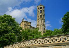 Uzès et sa Tour Fenestrelle Le Gard, Pont Du Gard, France Travel, Notre Dame, Building, Summer, Passion, Pathways, Tourism