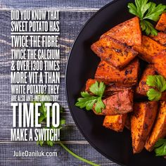 Many think of sweet potatoes and yams as one in the same, but while they may look similar, yams and sweet potatoes are from different plant families and are very diverse when more closely inspected. White Potatoes, Food Facts, Yams, Grill Pan, Healthy Choices, Sweet Potato, Grilling, Vegetables, Griddle Pan