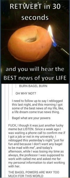 "BAGEL POOOWWWEEEERRRRR!!!!! - Addison ""Its Almost halloween"" - Google+"