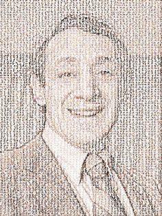 NO H8 - Harvey Milk mosaic composed of 10,000 NO H8 photos