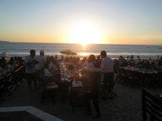 Jimbaran Bay Seafood & Restaurant - Seafood on the beach!