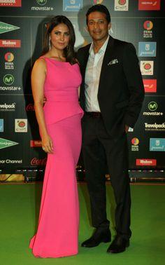 Lara Dutta and Mahesh Bhupathi