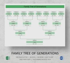 Are you about to create your family tree? Well, you might want to distribute the family tree for all your siblings during a family re-union as a precious keepsake. Family Tree Diagram, Family Tree Chart, Family Relationship Chart, Create A Family Tree, Family Trees, Blank Family Tree Template, Family Tree Maker, Pedigree Chart, Family Tree Designs